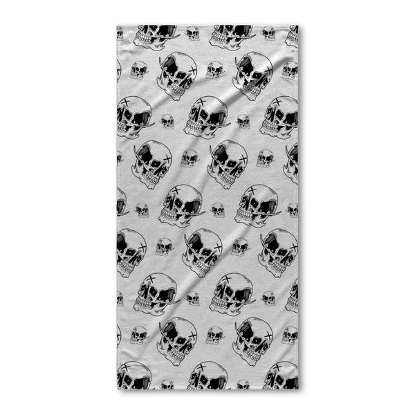 Emman Skull Beach Towel