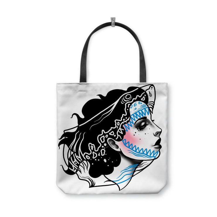 Drew Nautical Shark Tote Bag
