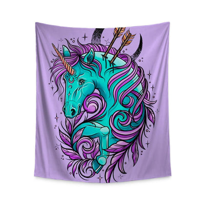 Sam Unicorn Wall Tapestry Indoor