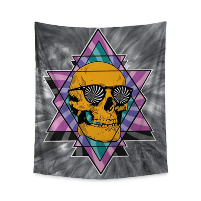 Geary Skull Wall Tapestry