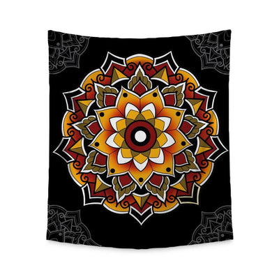 Woods Mandala Wall Tapestry