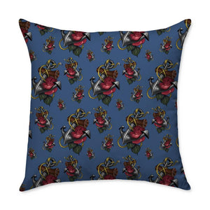 Timmy B Anchor Square Throw Pillow