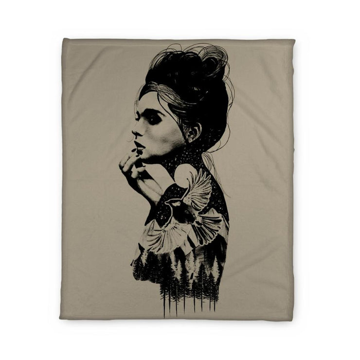 Austin Girl Fleece Blanket