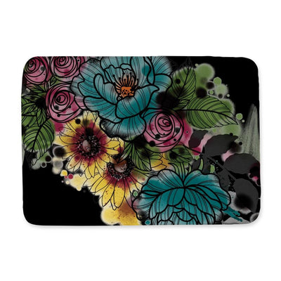 Kristel Flowers Bath Mat