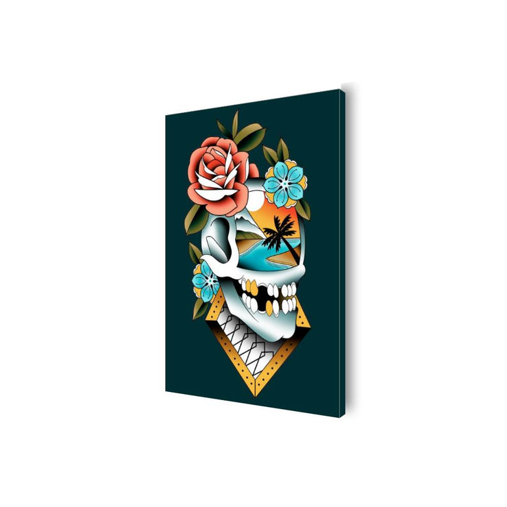 Campbell Skull Canvas