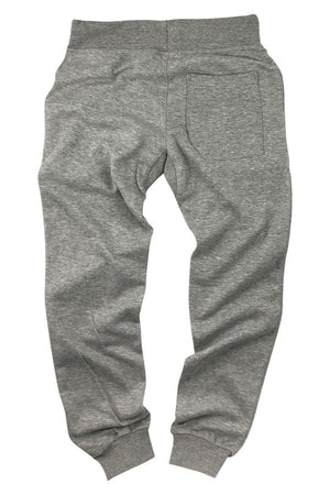 InkAddict Men's Heather Grey Fleece Joggers