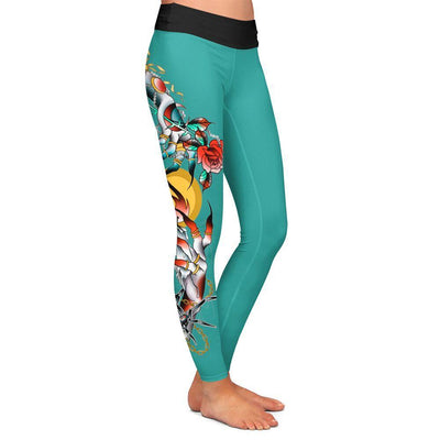 Castro Hands Womens Premium Leggings