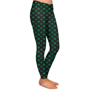 Haney Leaf Womens Premium Leggings