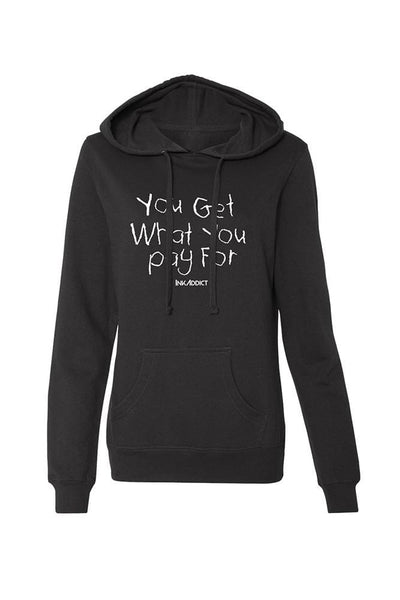 You Get... Women's Black Pullover