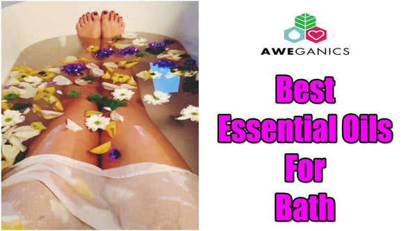 best essential oils for bath