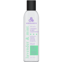 Aweganics Lavender Mint Hair Conditioner - AWE Inspiring Natural Aromatherapy Invigorating Purple Conditioner