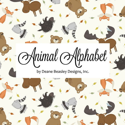 Animal Alphabet by Deane Beesley Designs, Inc.