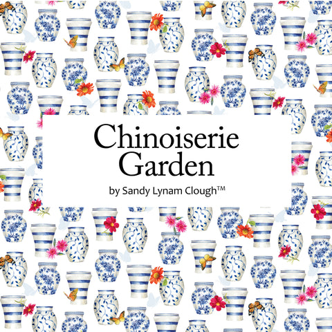 Chinoiserie Garden by Sandy Lynam Clough