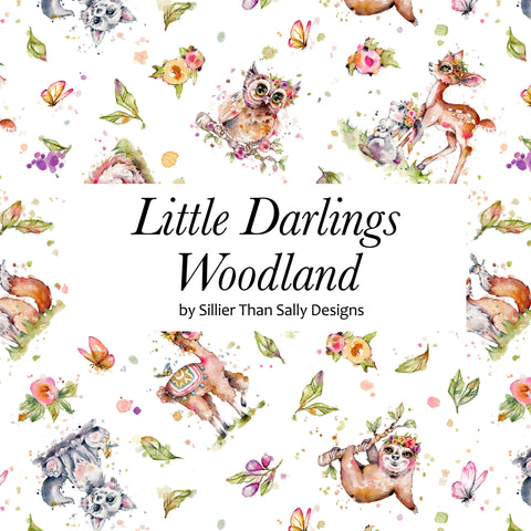 Little Darlings Woodland by Sillier than Sally Designs