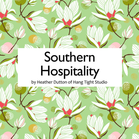 Southern Hospitality by Heather Dutton of Hang Tight Studio