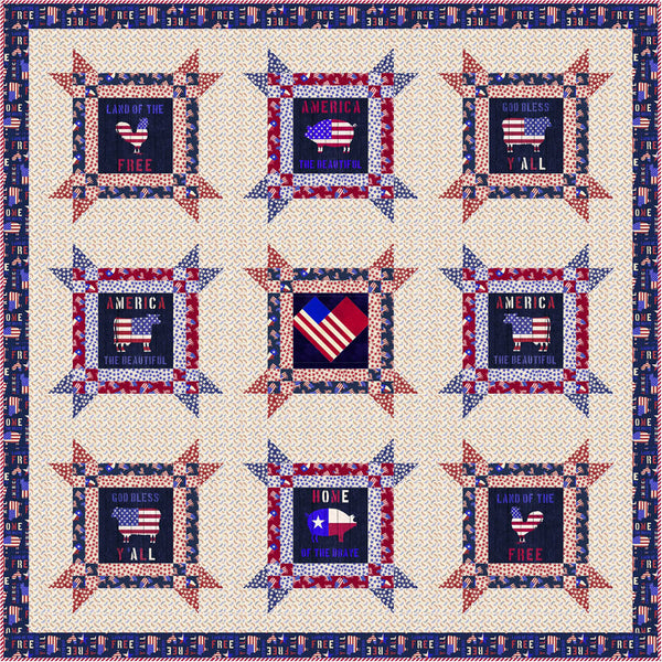 American Farm<br>Quilt by Stacey Day<br>Available August 2021.