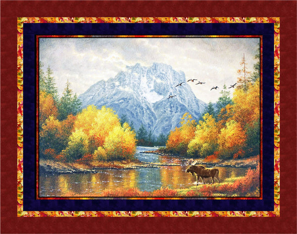 Autumn Tranquility<br>by Cyndi Hershey<br>Available April 2019