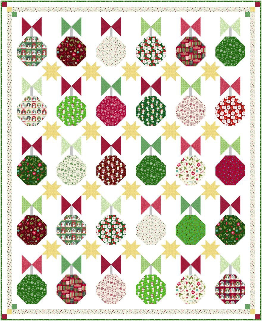 Christmas Miniatures<br>Quilt by Cyndi Hershey<br>Available May 2021.