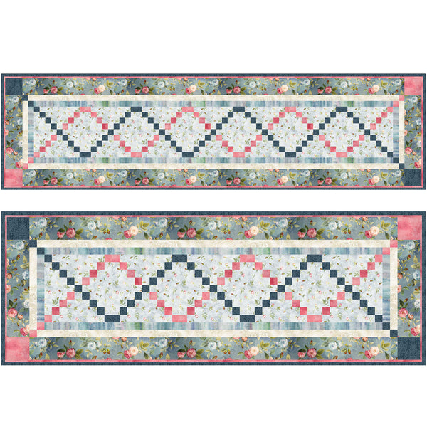 Daniella<br>Bed or Table Runner by Cyndi Hershey<br>Available September 2021.