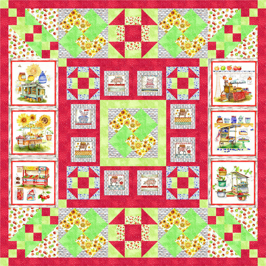 Boones Fresh Farm Stand<br>by Miss Marker<br>Pattern for Purchase<br>Available January 2019