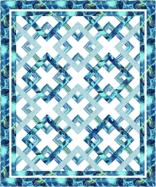 Fluidity II<br>Pattern for Purchase by Brenda Plaster<br>Available now!