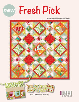 Home Grown Quilt<br>by: Heidi Pridemore<br>Fresh Pick