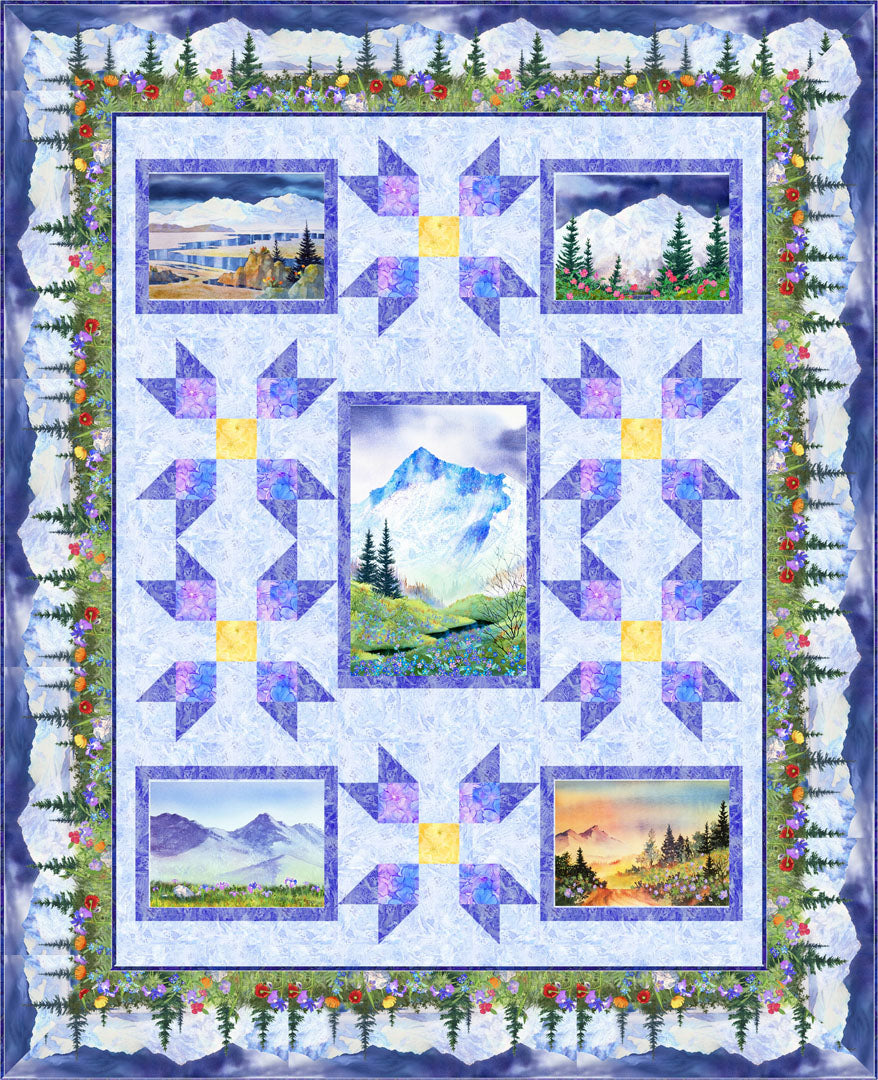 Majestic Mountains<br>by Michelle McAnally<br>Pattern for Purchase<br>Available November 2019