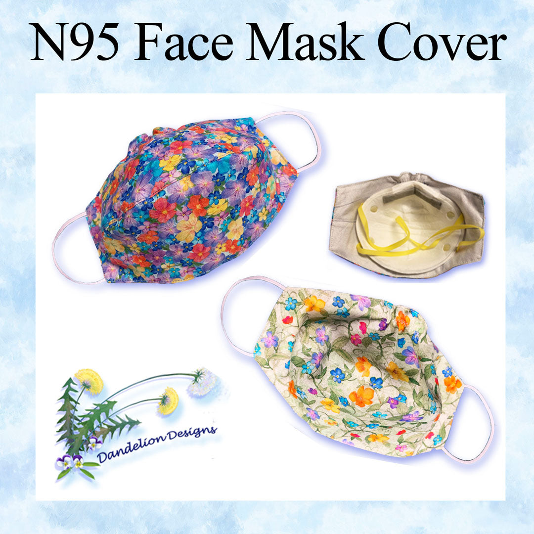 N95 Face Mask Cover Pattern  Available NOW!