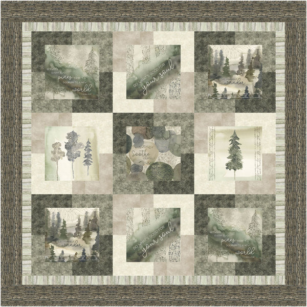 Forest Retreat<br>Pattern for Purchase by Brenda Plaster<br>Available Now!