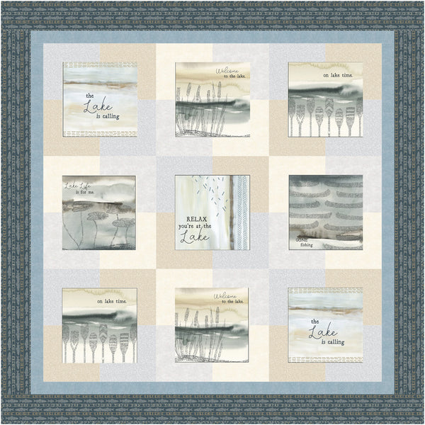 Lake Escape<br>Pattern for Purchase by Brenda Plaster<br>Available August 2021.