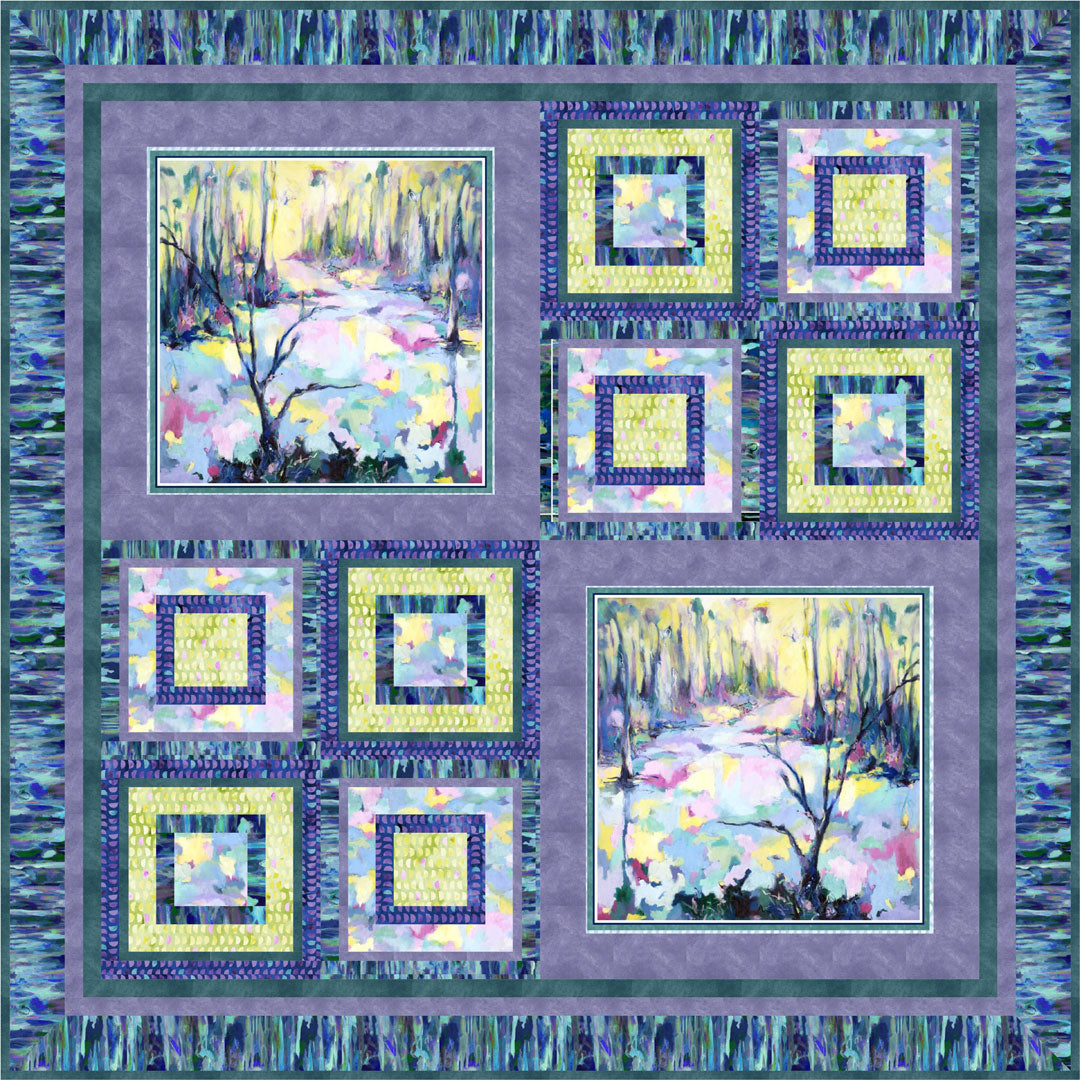 Naturesong Quilt #1<br>by Cindy Hershey<br>Available Now!