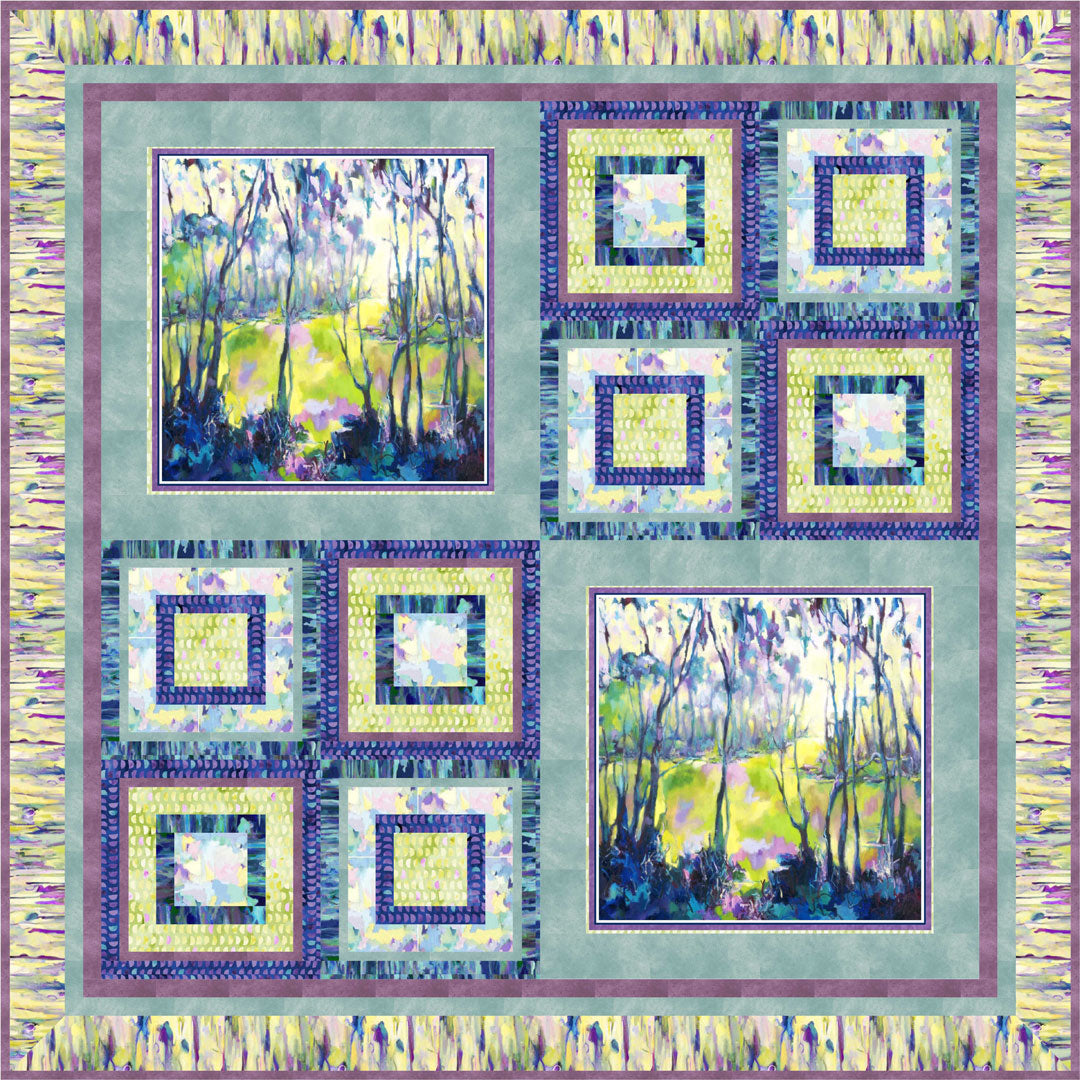 Naturesong Quilt #2<br>by Cindy Hershey<br>Available June 2019