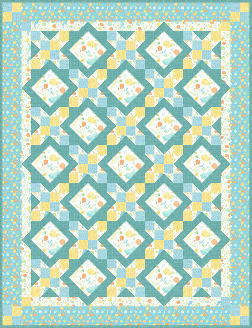 Ocean Buddies<br>by Toby Lischko<br>Pattern for Purchase<br>Available Now!