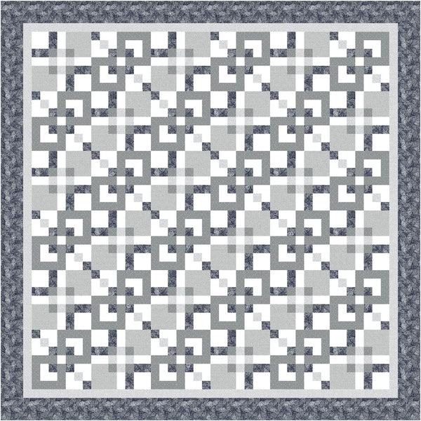 Foliage<br>Nine Patch Maze Pattern for Purchase by Brenda Plaster<br>Available May 2021.