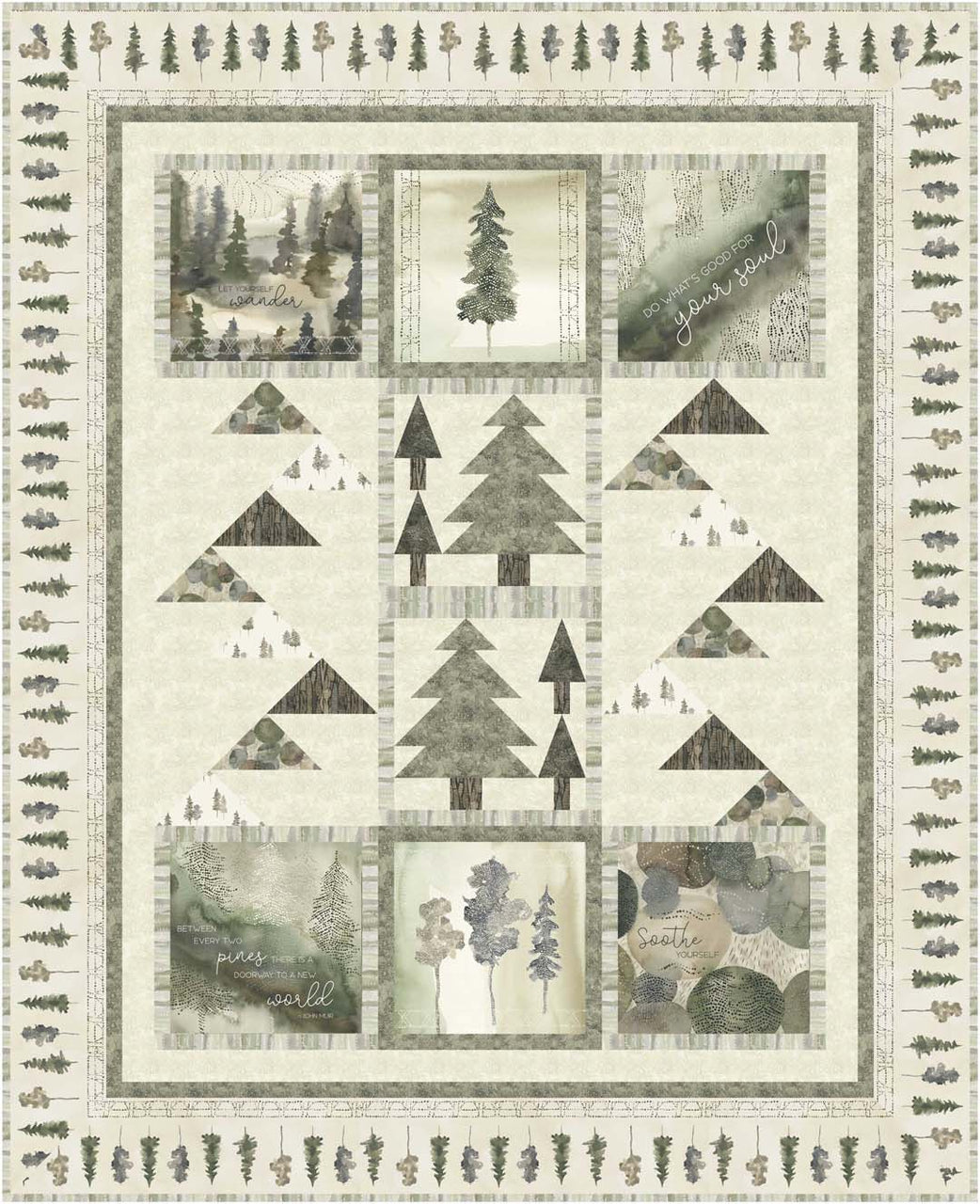 Forest Retreat<br>Projects by Cyndi Hershey<br>Available Oct/Nov 2020.