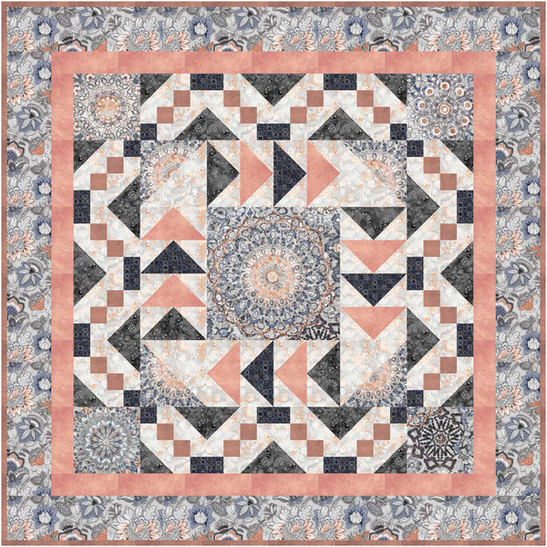 Kashmir Kaleidoscope <br>by Toby Lischko<br>Pattern for Purchase<br>Available July 2020