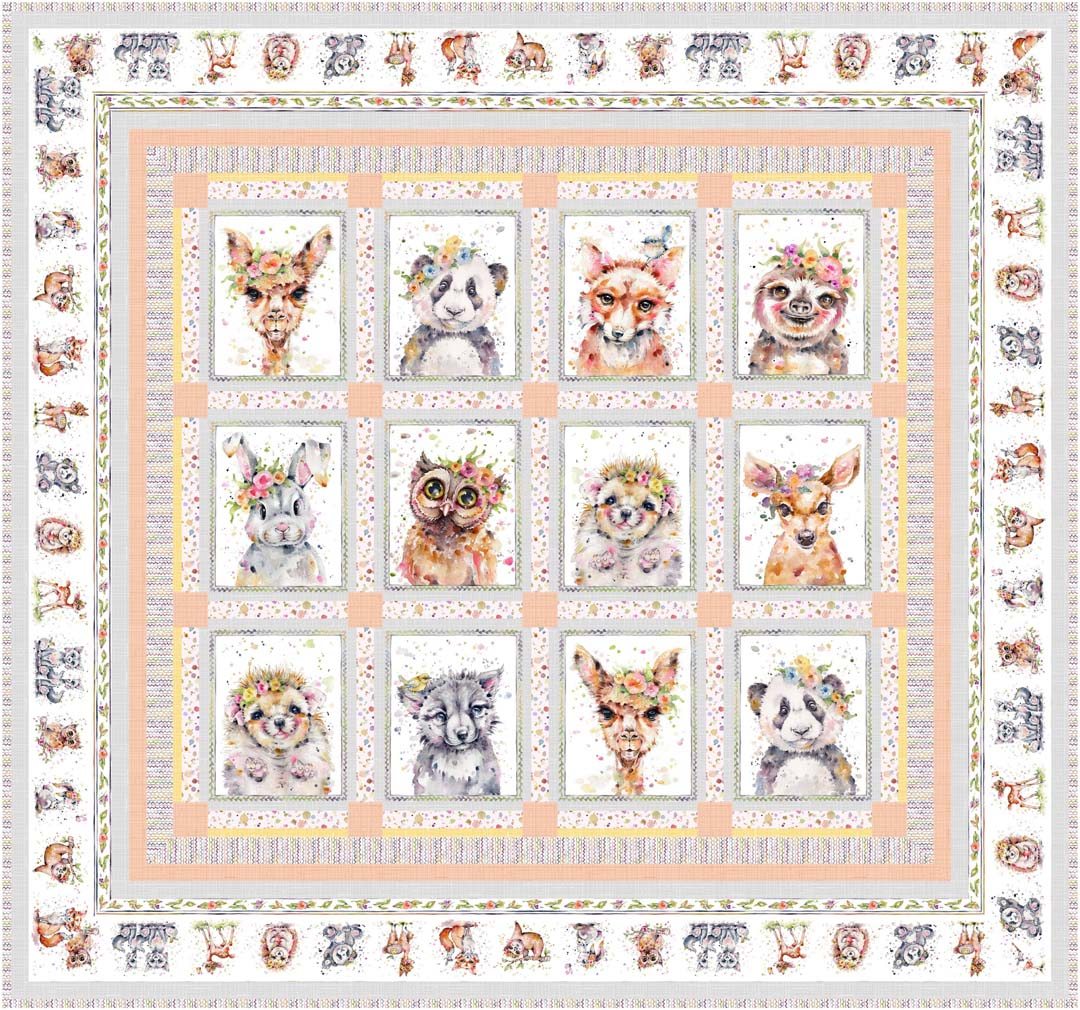 Little Darlings Woodland<br>Projects by Cyndi Hershey<br>Available Oct/Nov 2020.