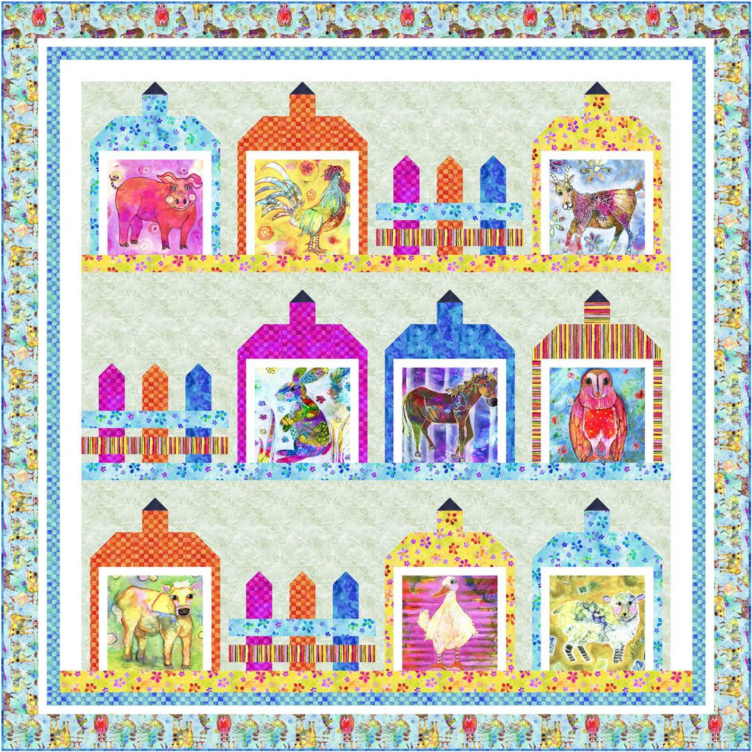 Living Farm<br>Quilt by Wendy Shepard<br>Available Now