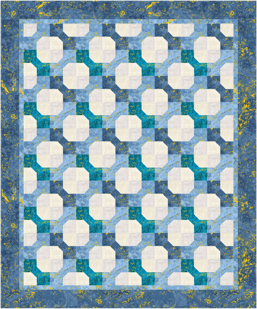 Metallic Studio<br>Bowtie Pattern for Purchase by Brenda Plaster<br>Available April 2021.
