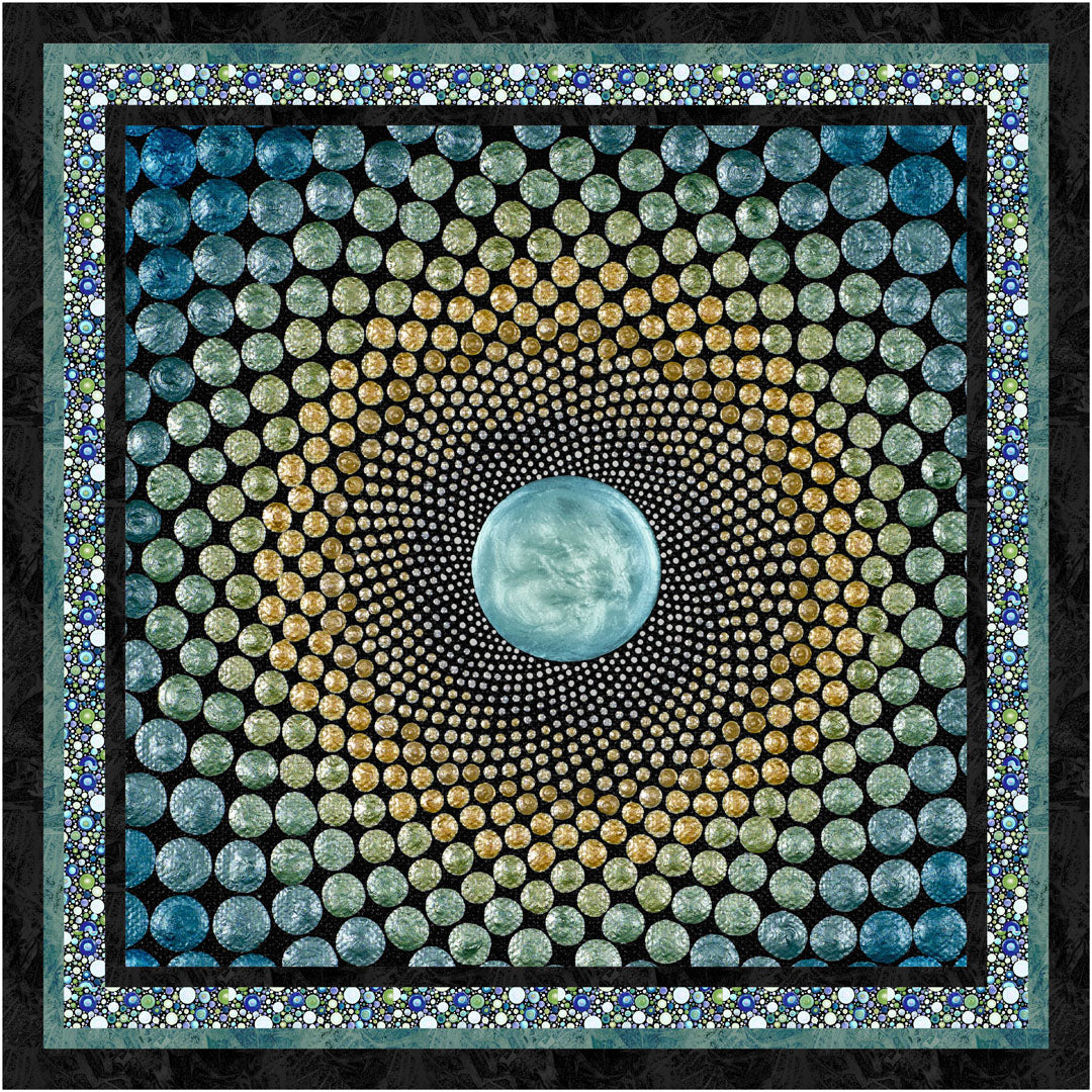 Mindful Mandalas<br>Quilt by Cyndi Hershey<br>Available Now