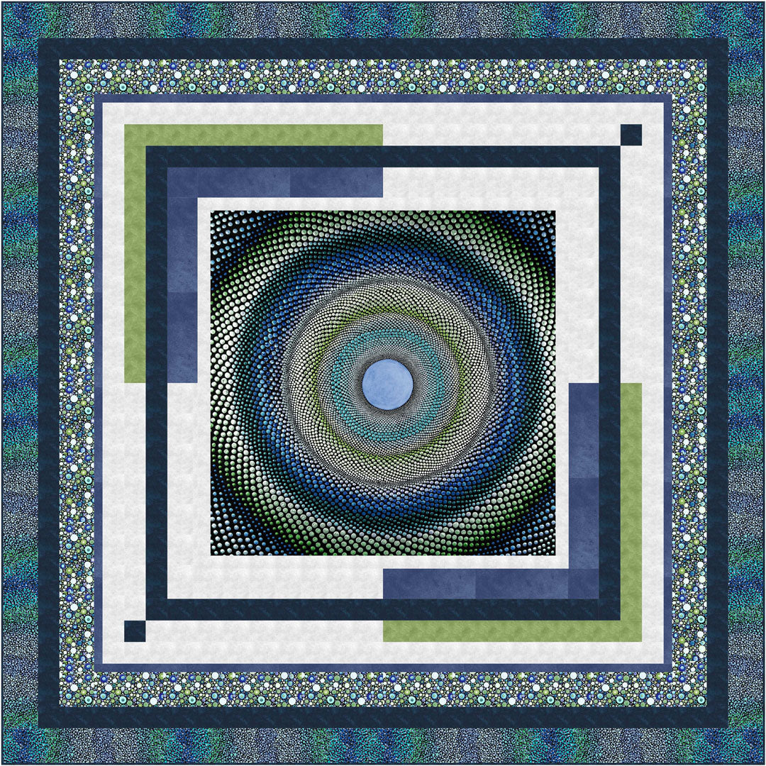 Mindful Mandalas<br>Quilt by Wendy Sheppard<br>Available Now