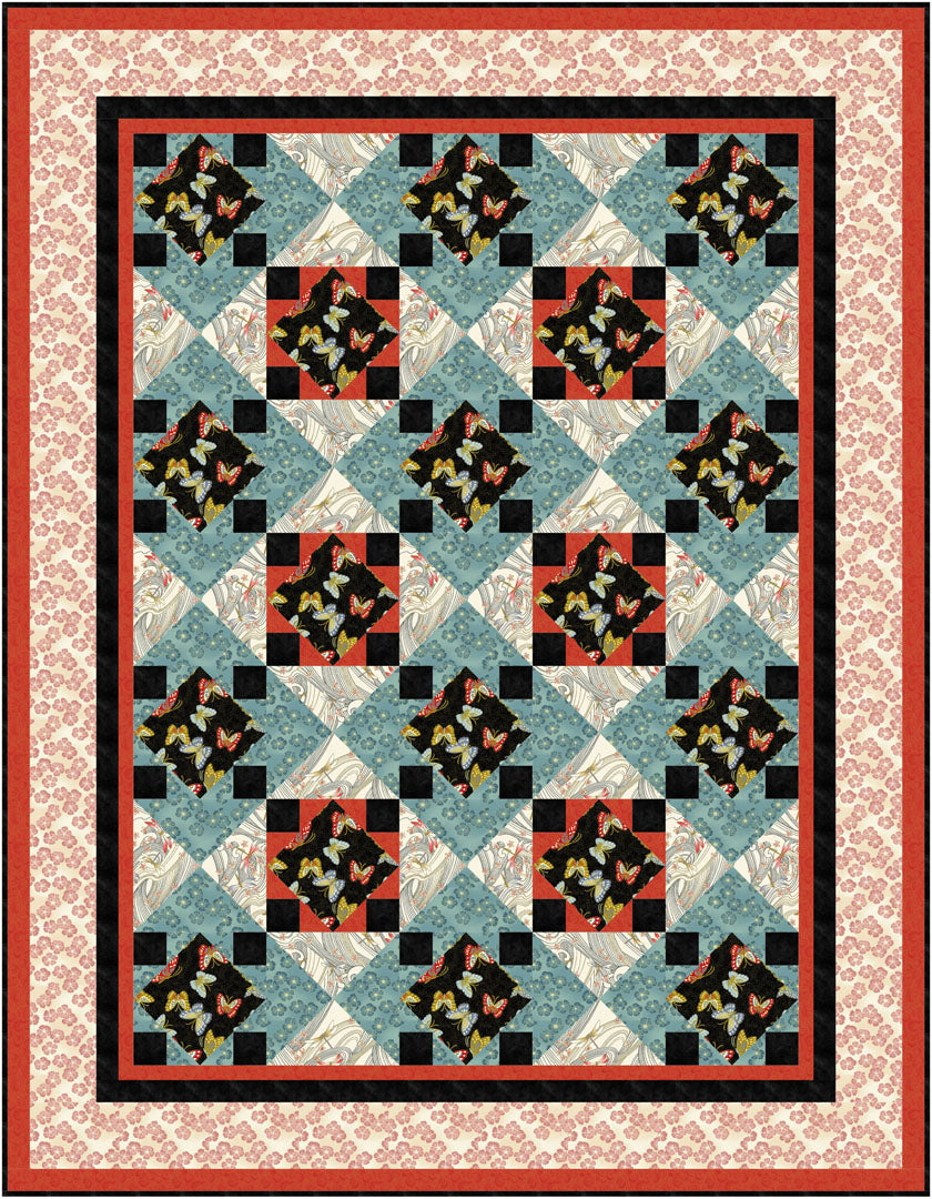 NIWA<br>Quilt by Gina Gempesaw<br>Available Feb. 2021.