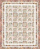 Papier Maché Courtyard Quilt<br>by Cyndi Hershey<br>Available Now!