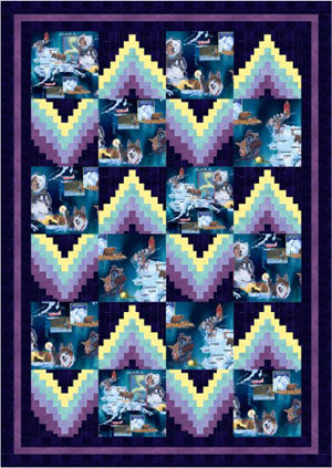 Polar Lights<br>THE COLLECTION OF<br>ALASKA'S ARTIST<br>JON VAN ZYLE<br>Pattern for Purchase<br>Available Feb/March 2018