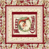 Postcard Holiday<br>Quilt, Pillows & Bed runner by Cyndi Hershey<br>Available May 2021.