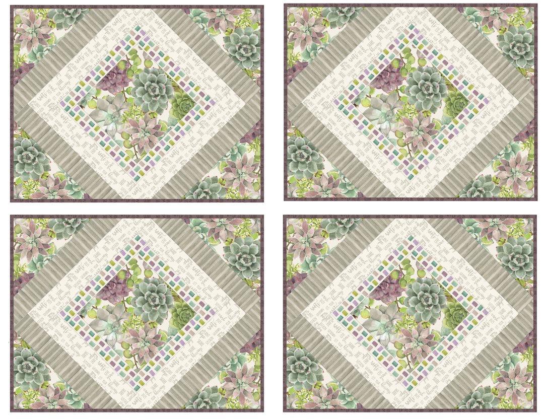 Rustic Rosettes Placemats #2<br>Pattern for Purchase<br>Available Now