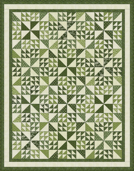Northwind in Spring<br>by Evonne Cook<bR>Temperance Green<br>Free Pattern<br>Available Now
