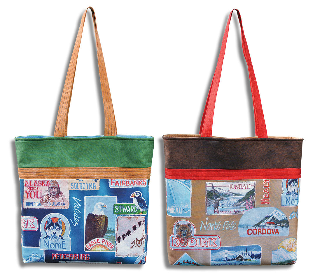 All Over Alaska Totes<br>by Heidi Pridemore<br>Available Now!.