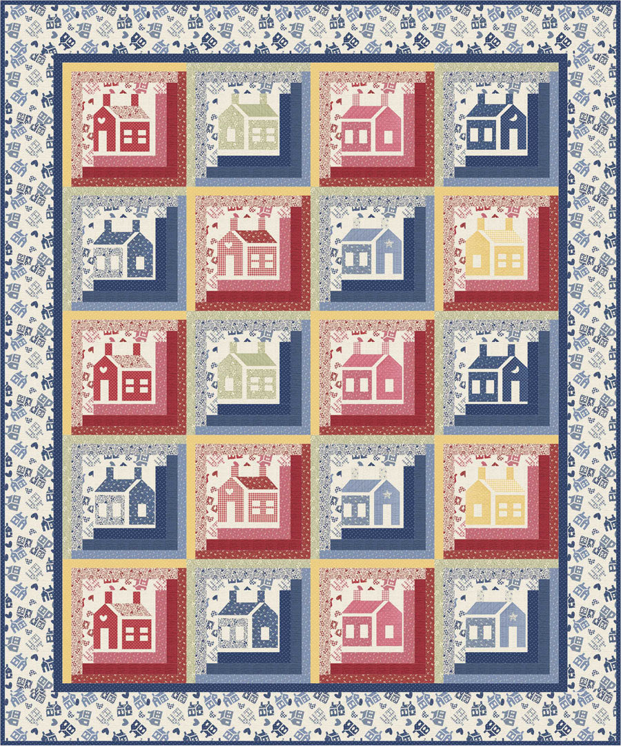 One-Room Schoolhouse Collection<br>Free Pattern<br>Available NOW!