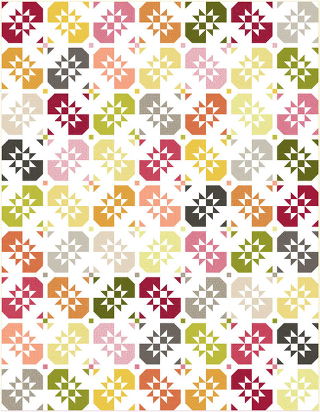 Whimsy Fat Quarter Quilts<br>Quilt by Wendy Sheppard<br>Available April 2021.